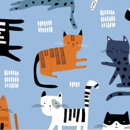 Fabric 20583 | Koty psy 8