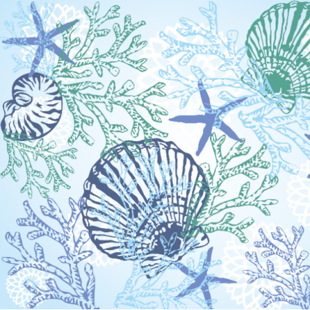 Fabric 20717 | MORSKI / SEA PATTERN