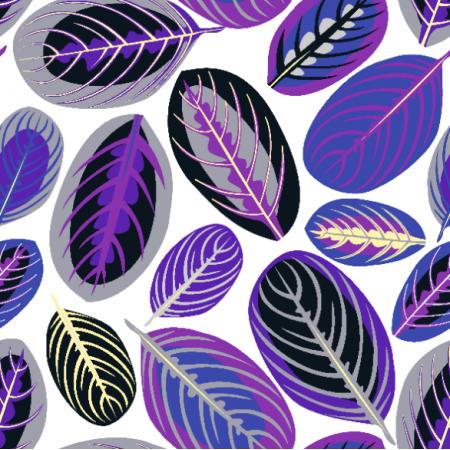 Fabric 20766 | liście