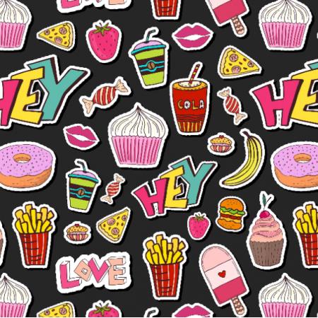 Fabric  | sweet food