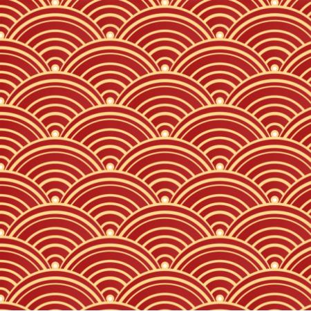 Tkanina 20809 | Chiński wzór