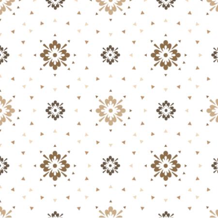 Tkanina 20815 | wzór abstrakcyjny w stylu retro