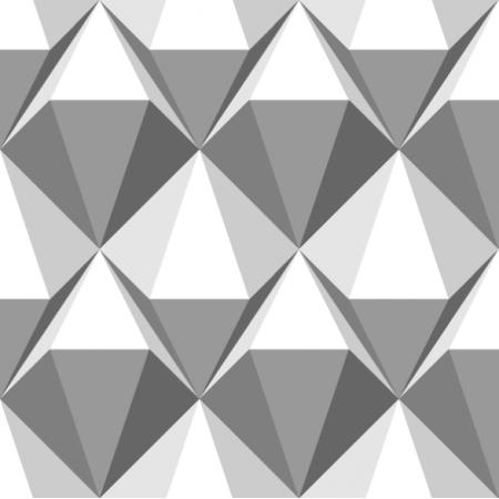 Fabric 20992 | diamenty szare