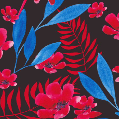 Tkanina 21007 | wild red