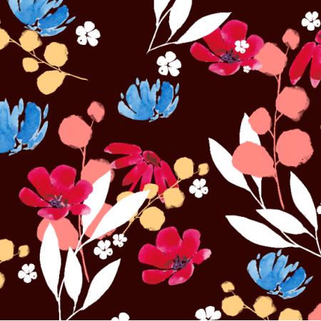 Fabric 21029 | Delicate watercolor pattern