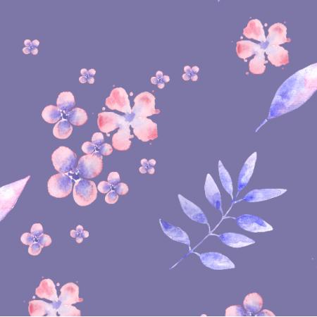 21049 | Watercolor flowers