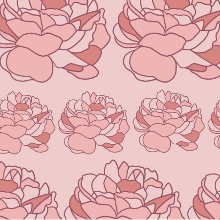 21065 | Delicate roses pattern
