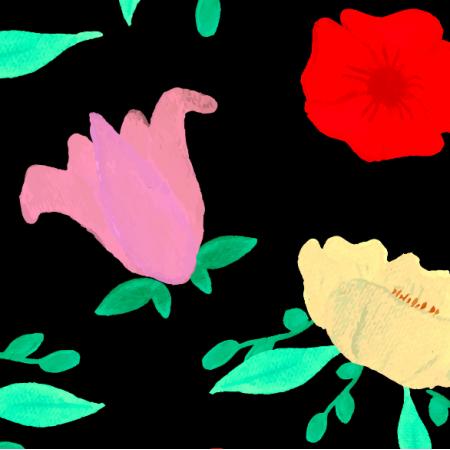 Fabric 21106 | polne kwiaty