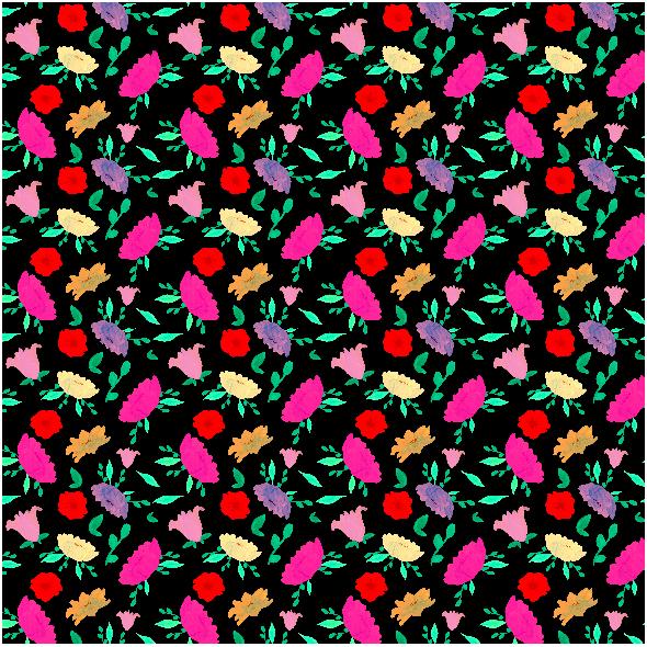 Tkanina 21106 | polne kwiaty