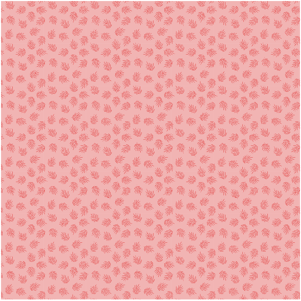 Tkanina 21224 | Pink palm Leaf Summer
