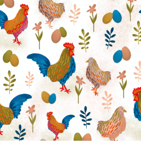 21236 | Rooster Chicken Coutry Folk