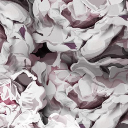Fabric 21268 | Wiosenne piwonie