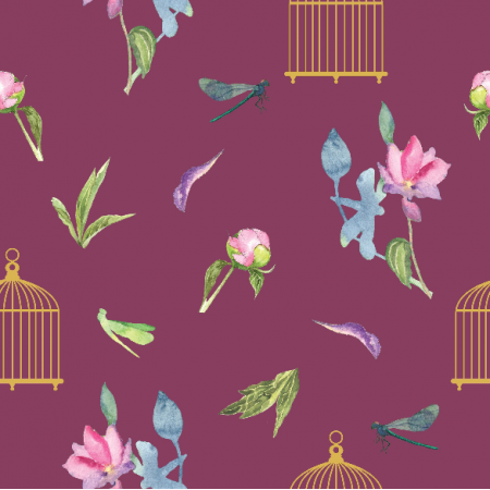 Fabric 21284 | Birdcages