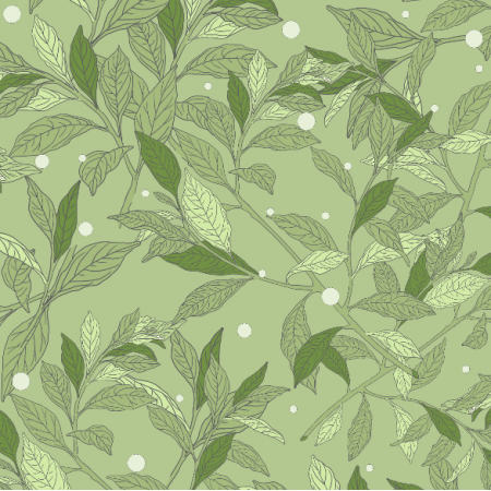 21449 | Green vibes pattern