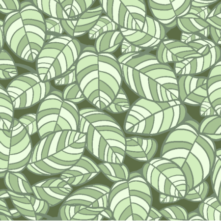 Fabric 21452 | Crazy leaves