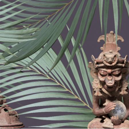 21627 | U Majów (wzór inspirowany kulturą Majów)