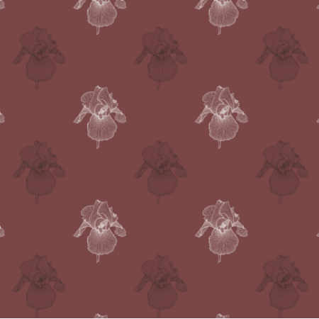 Fabric 21658 | Irys bordo