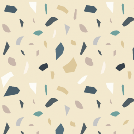 21659 | geometryczny wzór Lastryko terazzo RÓż PUDER