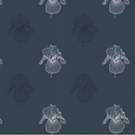 Tkanina 21661 | Irys granat