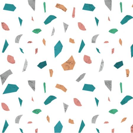Fabric 21667 | geometryczny wzór Lastryko terazzo kamień kolor