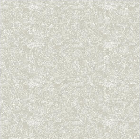 Tkanina 21721 | WHITE VINTAGE FLOWERS ON light green