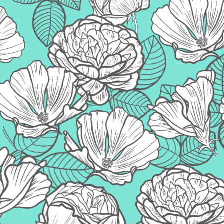 Fabric 21747 | MInt vibes