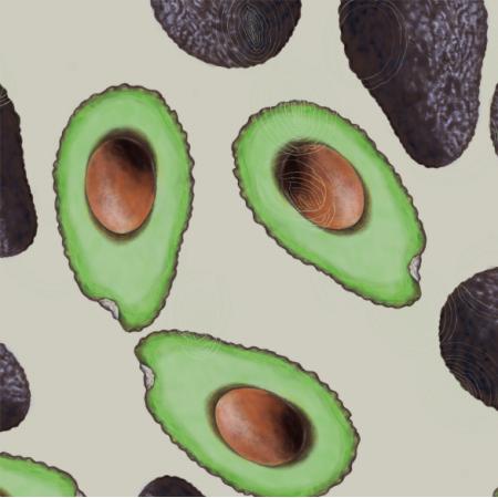 21794   Avocado and ecru