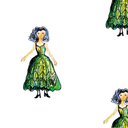 Fabric 21919 | Princess 1 pattern for kids