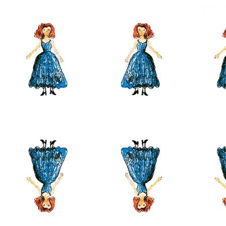 Fabric 21938 | Princess 3a pattern for kids
