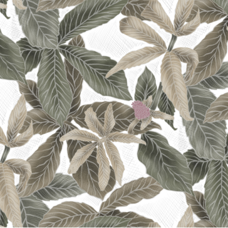 21950 | Green Leaves on white