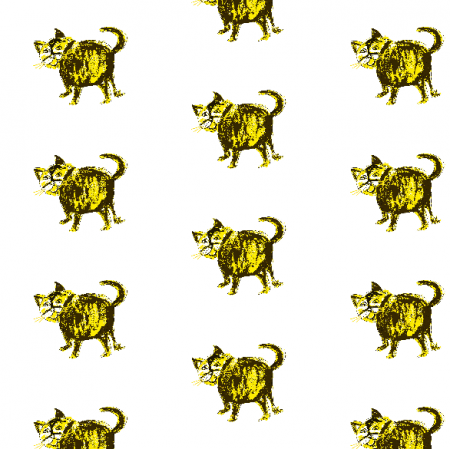 Fabric 21992 | Fat cat 5 pattern for kids
