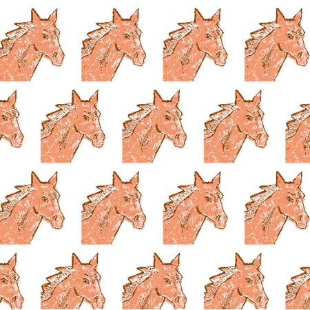 Fabric 22003 | Horse head 3A
