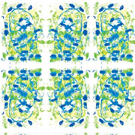 Tkanina 22047 | Colourful abstract pattern 17A