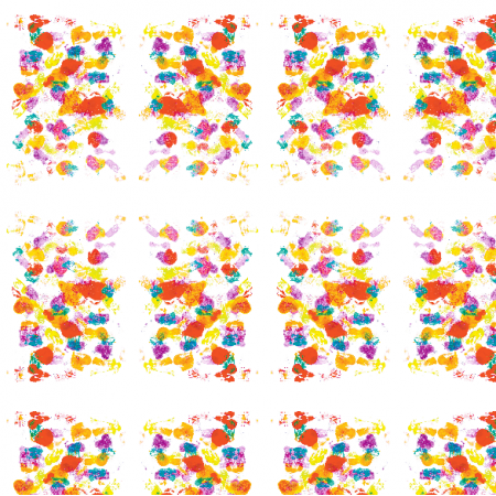 22051 | Colourful abstract pattern 11A