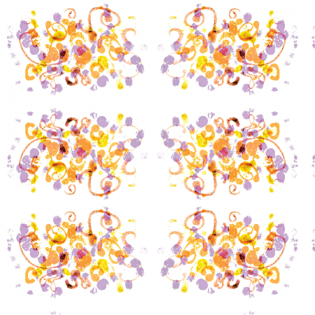 Tkanina 22055 | Colourful abstract pattern 13A