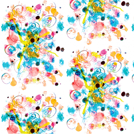 Tkanina 22056 | Colourful abstract pattern 1