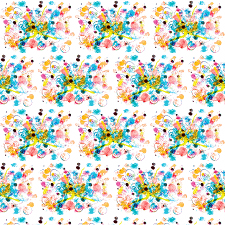 Tkanina 22057 | Colourful abstract pattern 1A