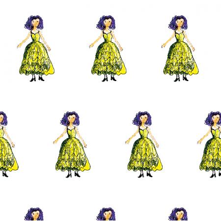 22068 | Princess 4A pattern for kids