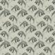 Tkanina 22134   Foxes on ecru