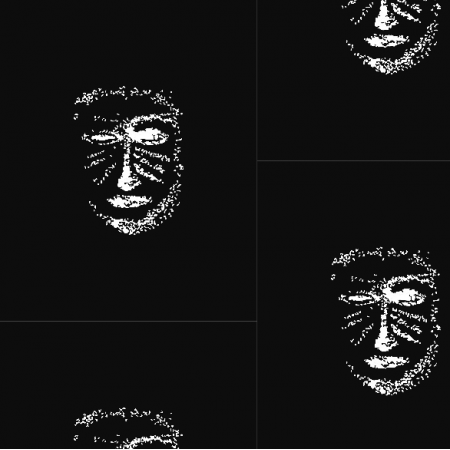 22149 | BLack-white MAsk pattern 1