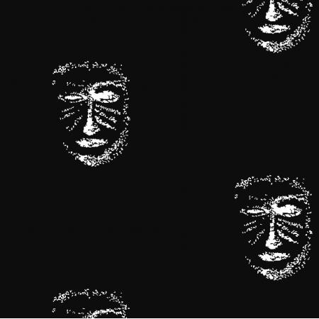 22149 | BLack-white MAsk pattern 1