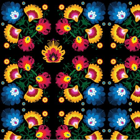 Fabric 22217 | kompozycja folkowa medium