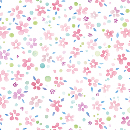 22255 | small Watercolor flowers