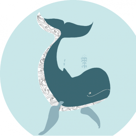 Fabric 22271 | whale