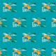 Tkanina 22274   golden fish pattern 2