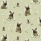Fabric 22410   Frenchie 2 green