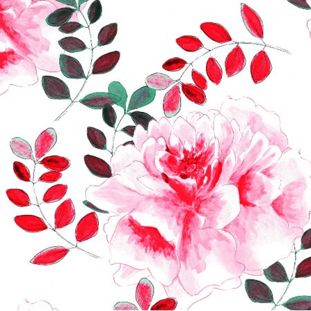 22469 | Kwiaty w kolorze landrynkowym