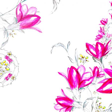 22470 | Różowa kaskada kwiatów