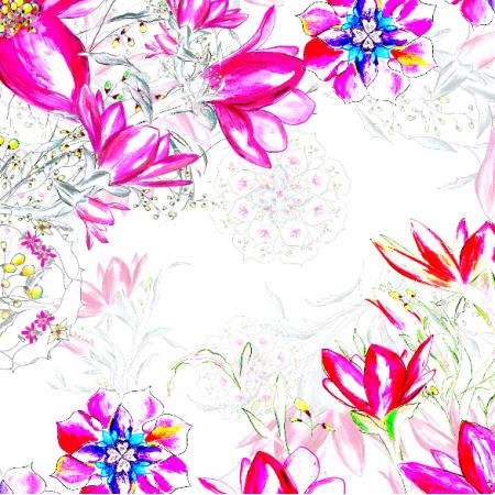 22473 | Fantazyjny wzór kwiatowy