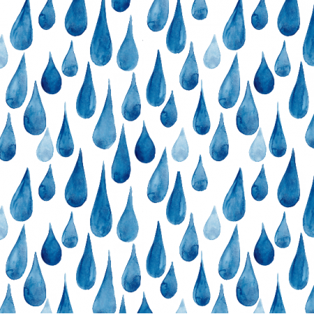 Fabric 22548 | Watercolor rain drops